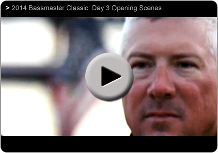 2014 Bassmaseter Classic Day3 with Randall Tharp