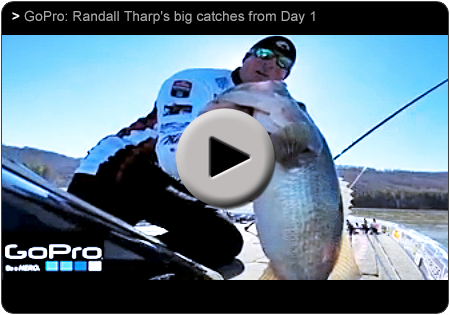 Go Pro - Bassmaster Classic with Randall Tharp
